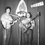 Dido (T.O. Nevada) a Jim, cca 1973, možno predkolo Porty alebo iný koncert v OS Luník I.