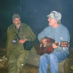 Šaman (z KE, samotár, predtým T.O. Čiernonožci) a Jim, Jesenný oheň cca 2010