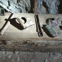 Kaverna 2 - vykopávky