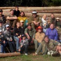 medzi kamarátmi na výročnom ohni v Legnave (2008)
