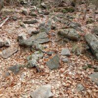 po kameňoch na Suchý vrch