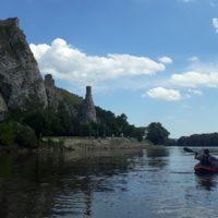 vplávanie do Dunaja