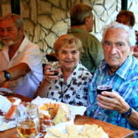 Oslávenkyňa Kiddovka (85) so Šperhákom (90)