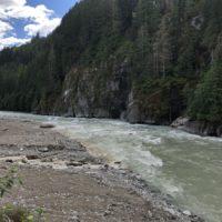 do 150 km / Squamish River