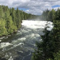 do 500 km / Dawson Falls