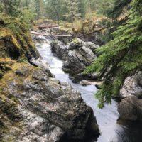 do 500 km / Qualicum Falls