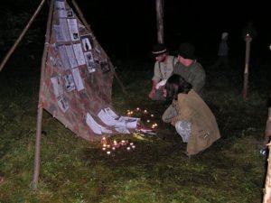 Spomienkový oheň, Lobos 2004
