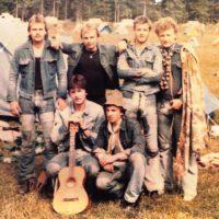 na čundri (Veľká Fatra, Mošovce 1980)