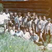 1. výročný oheň T.O. Severka (Baranidlo 1991)