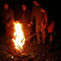 """slávnostný oheň """"Našich 20 rokov v Haďom údolí"""", 2007"""