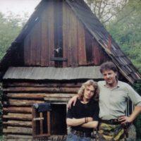 s Mamutom pred chajdou Baranidlo (1993)