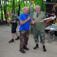 Špricek, šerif T.O.I. a Míra, šerif Trampclubu Praha