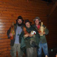 Zlatý Trapsavec (Joko), putovný Dědek Trasák (Pavlís), Malý Trapsavec (Zápalka)