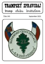 Trampský spravodaj č. 343, september 2021 - titulka