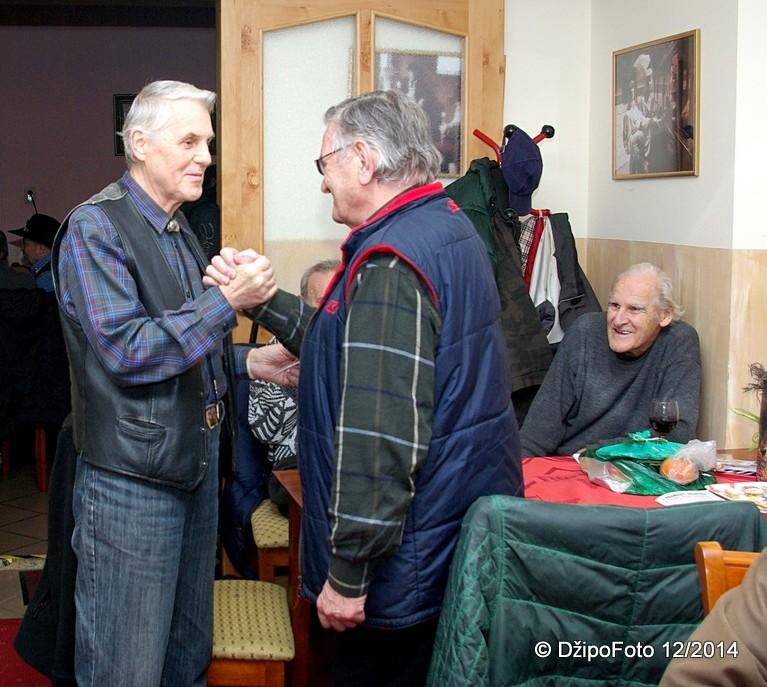Stanley, šerif T.O. Eldorado prijíma do osady Puba (16. 12. 2014)